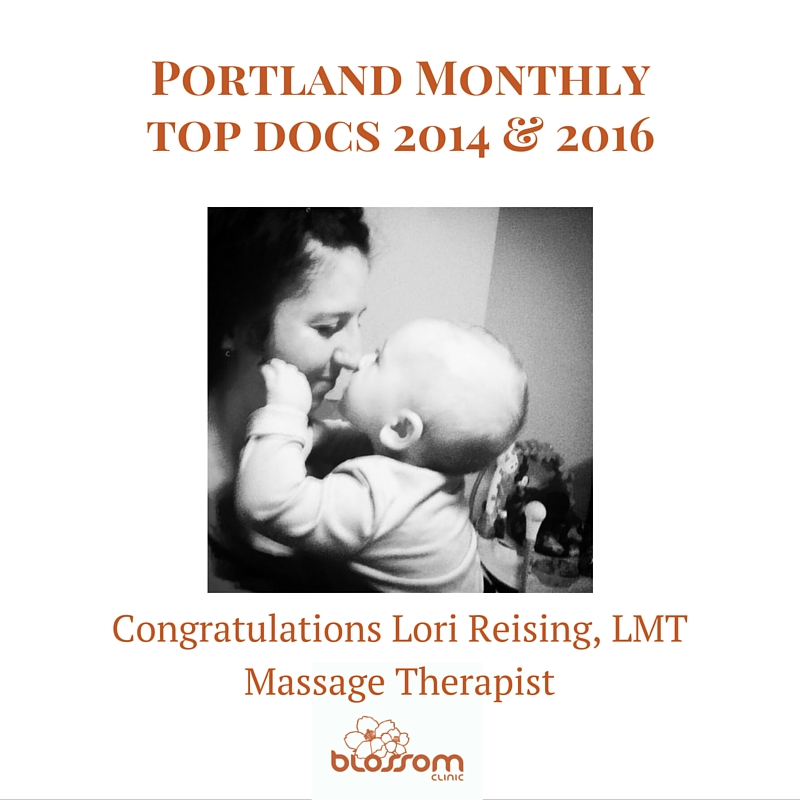 Lori Reising Massage Portland Monthly Top Docs 2014 2016 blossom clinic