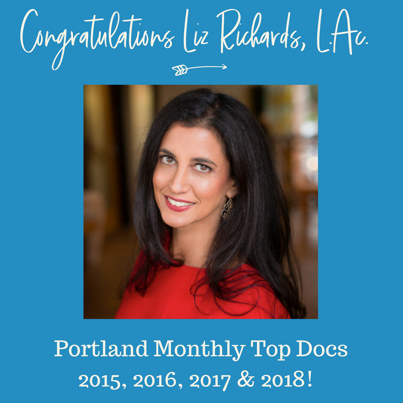 Portland Monthly Top Docs Acupuncture Liz Richards