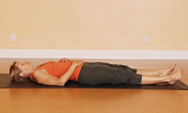 shavasana fertility yoga