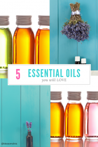Do you love essential oils? We're totally into clean air and lovely scents here at Blossom Clinic. Today on the blog, Janene Mitchell, Acupuncturist, shares some of her favorite 5 Essential Oils. Enjoy!